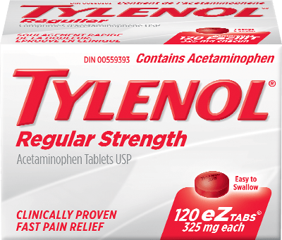 TYLENOL® Regular Strength EZ Tabs