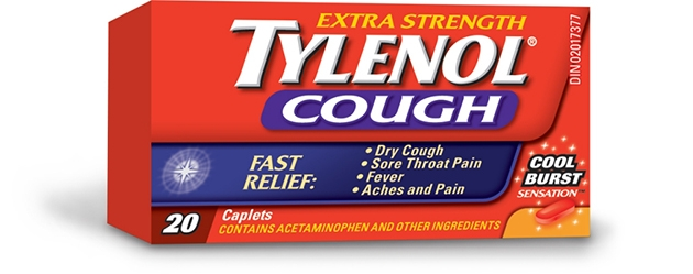 Extra Strength TYLENOL® Cough Cool Burst Sensation