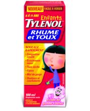 TYLENOL® Rhume et toux, pour enfants