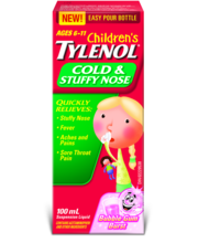 Children's TYLENOL® Cold & Stuffy Nose