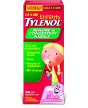 TYLENOL® Rhume et Congestion nasale pour enfants