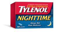 Extra Strength TYLENOL® Nighttime