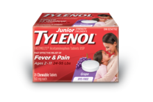 Junior Strength Children's TYLENOL® FASTMELTS®