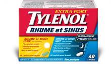 TYLENOL® Rhume et sinus