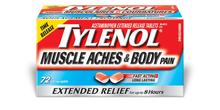 TYLENOL® Muscle Aches & Body Pain