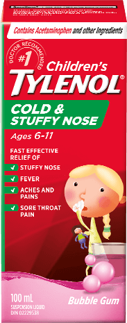 Children's TYLENOL®Cold & Stuffy Nose