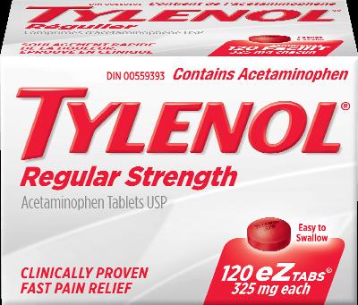 tylenol regular strength tylenol