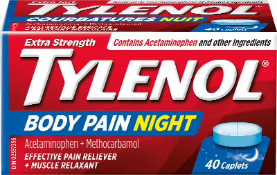 Extra Strength TYLENOL® Body Pain Nighttime