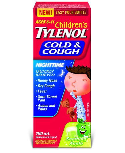 Children S Tylenol 174 Cold Amp Cough Nighttime Tylenol 174