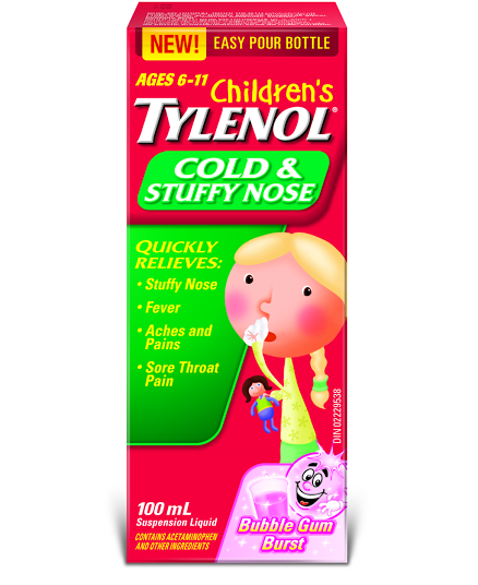 Children's TYLENOL®Cold & Stuffy Nose