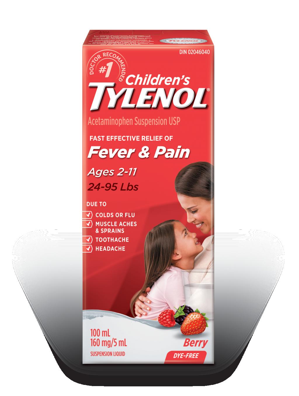 Children's TYLENOL® Fever & Pain Berry
