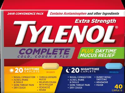 TYLENOL® Complete咳嗽、感冒及流感