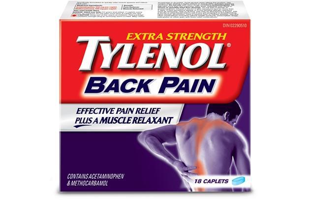 Extra Strength TYLENOL® Back Pain