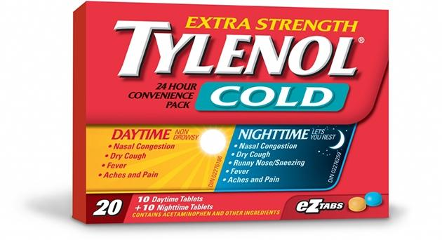 Extra Strength TYLENOL® Cold Daytime & Nighttime