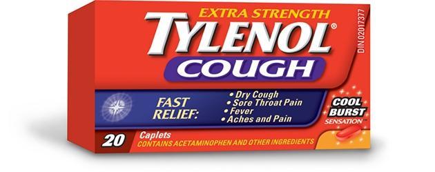Extra Strength TYLENOL® Cough Cool Burst Sensation