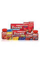 Various Tylenol products