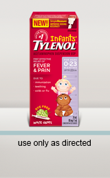 Infants' TYLENOL® Drops