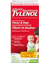 Infants' TYLENOL® product