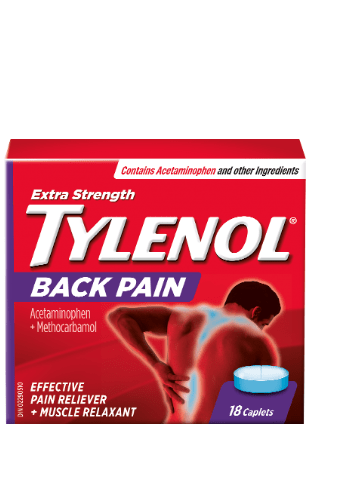 Extra strength TYLENOL® Back Pain, 18 caplets