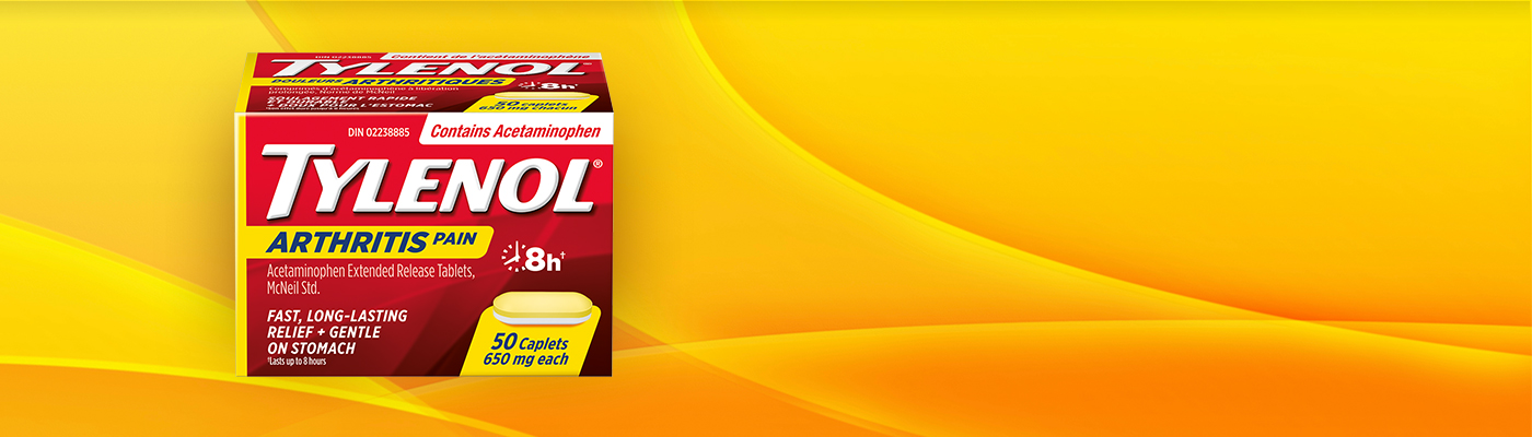 Request a one-week trial pack of TYLENOL® Arthritis Pain